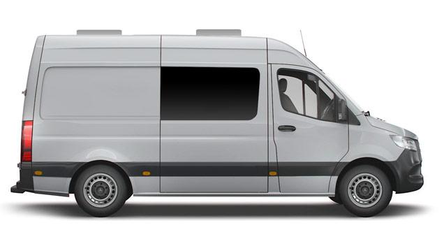 Mercedes-Benz® Sprinter 4x4®